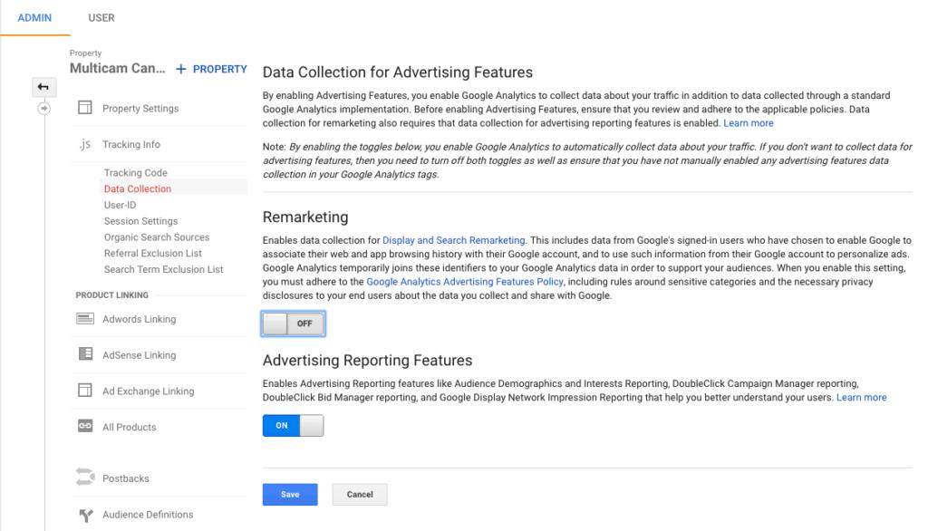 تفعيل إعادة الاستهداف عبر تحليلات قوقل Google Analytics