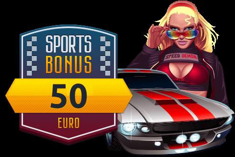 100% bonus on Sport