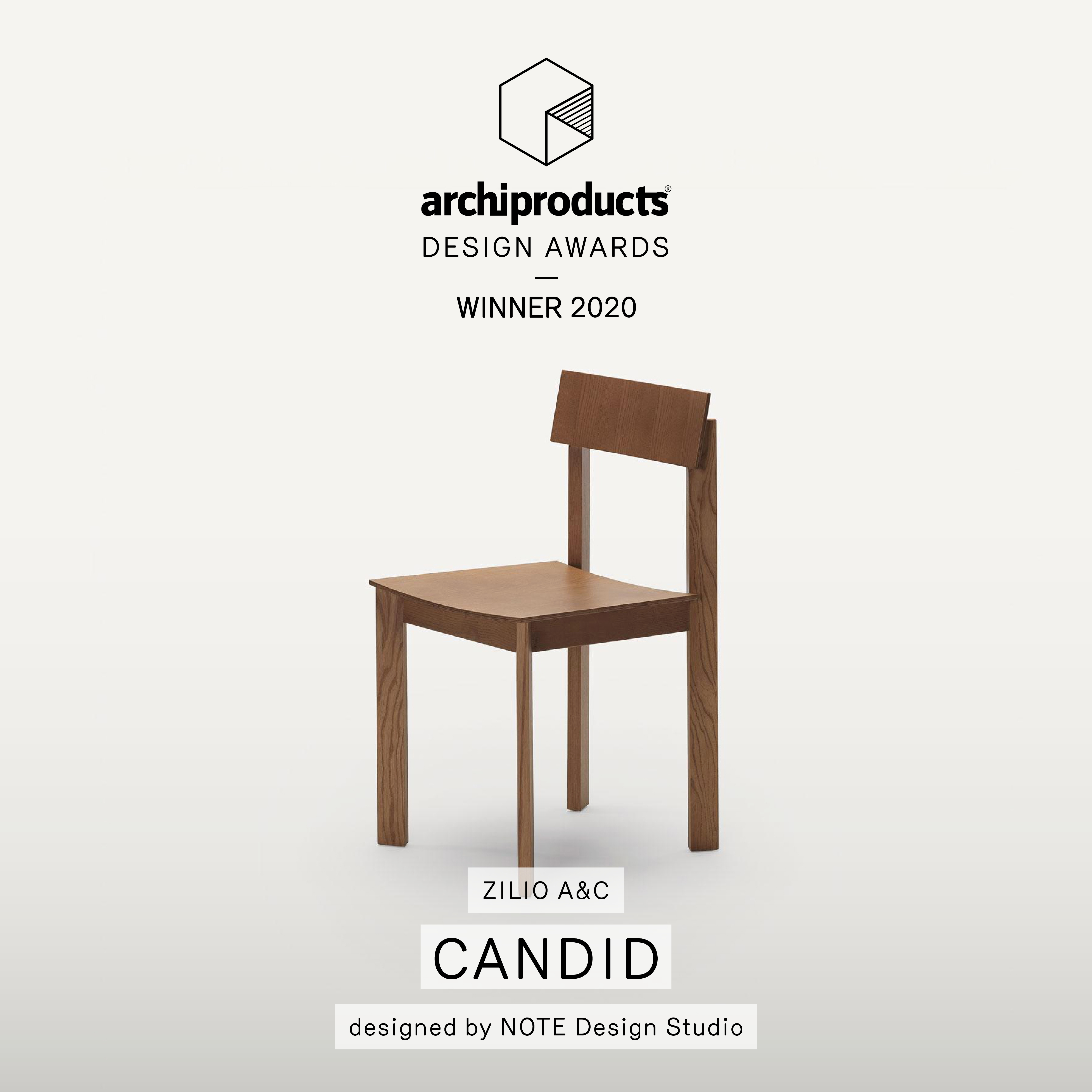 Candid wins Archiproducts Design Awards 2020