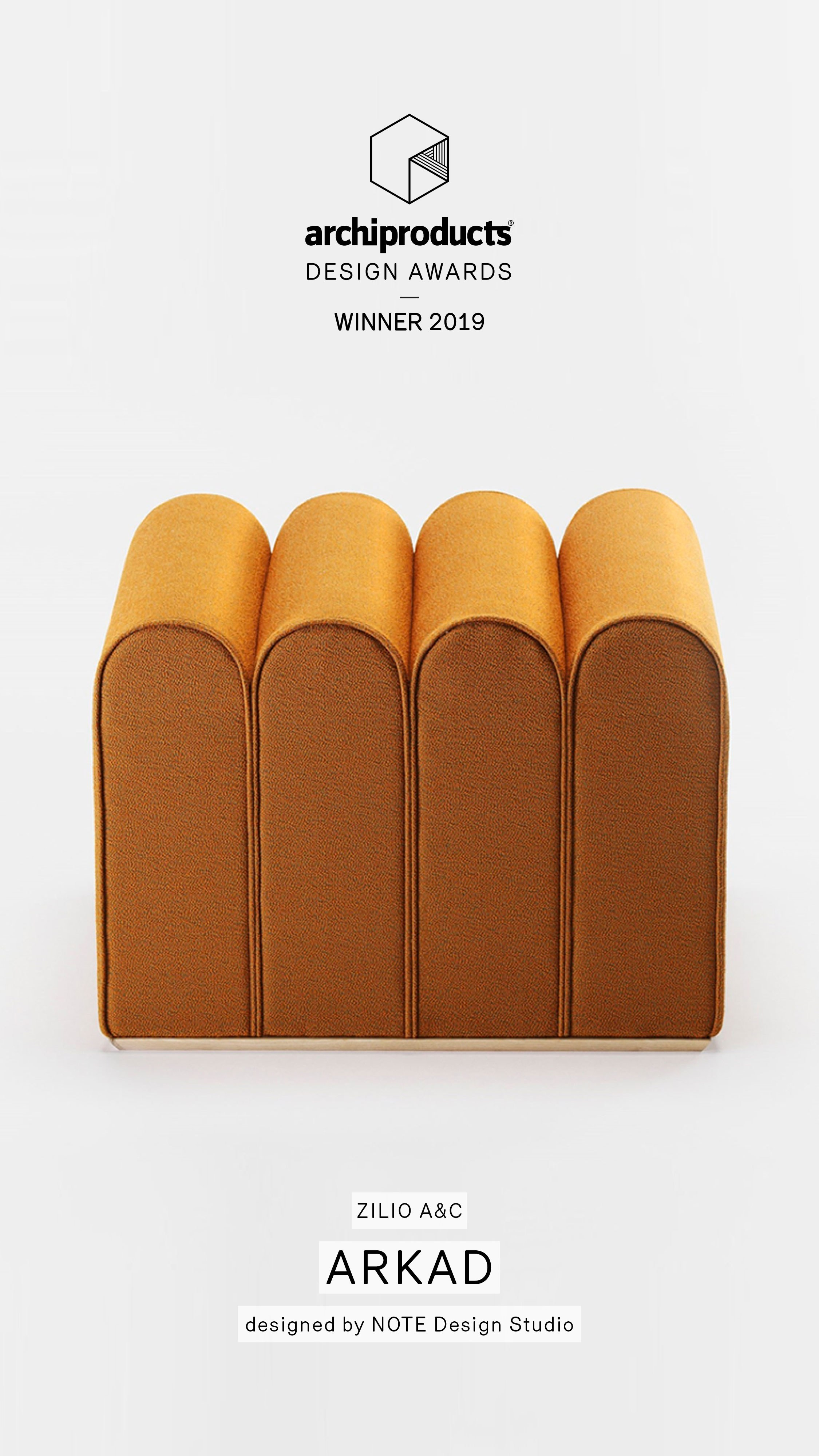 Arkad wins Archiproducts Design Awards