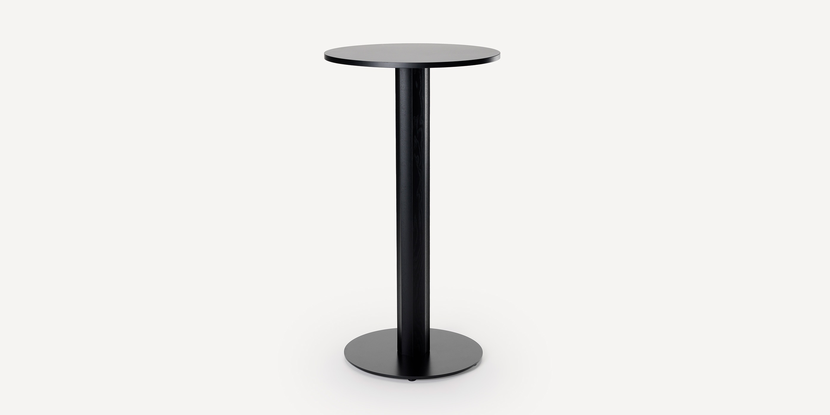 ⦰ 650 mm, lacquered MDF top, bar height