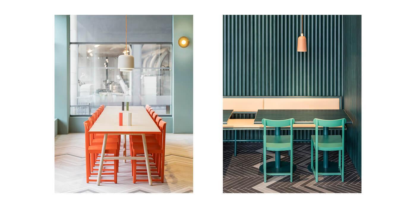 Fine Food, Stockholm, Sweden, Interior design and image by Note Design Studio