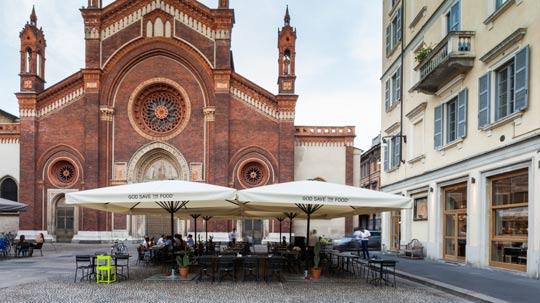 God Save the Food, Milan