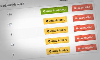 Auto Video Import