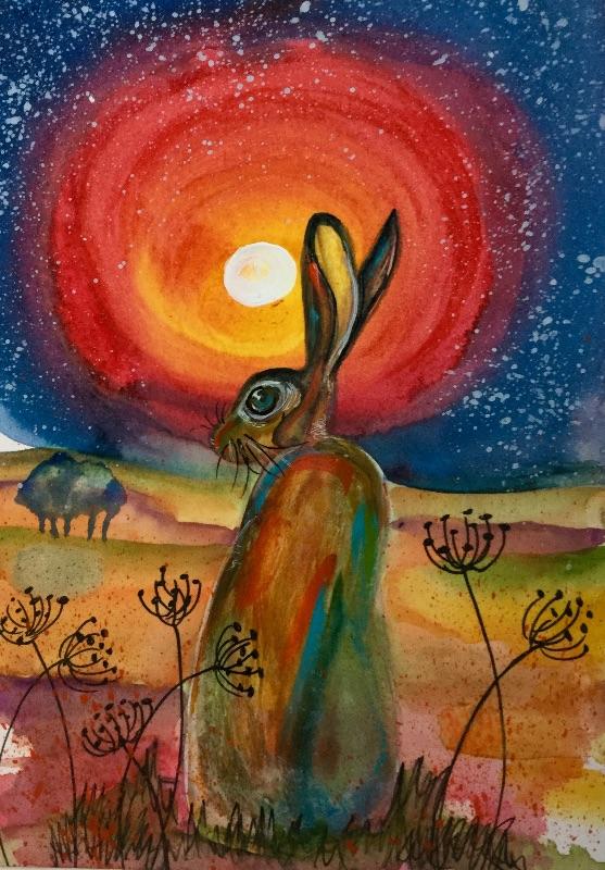 Bigwig sitting hare