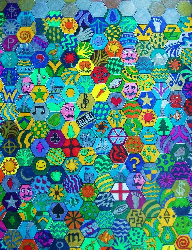 Hexagon Doodle
