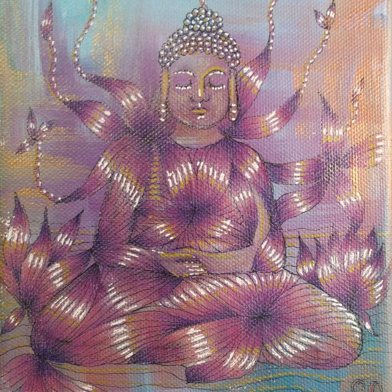 Buddha in Blossom