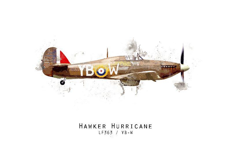 Hawker Hurricane LF363