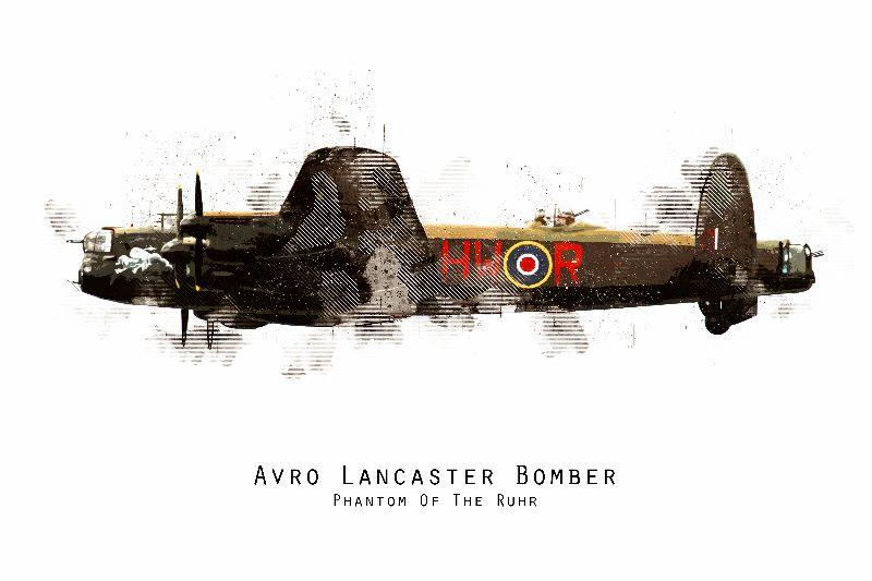 Lancaster Bomber  BBMF