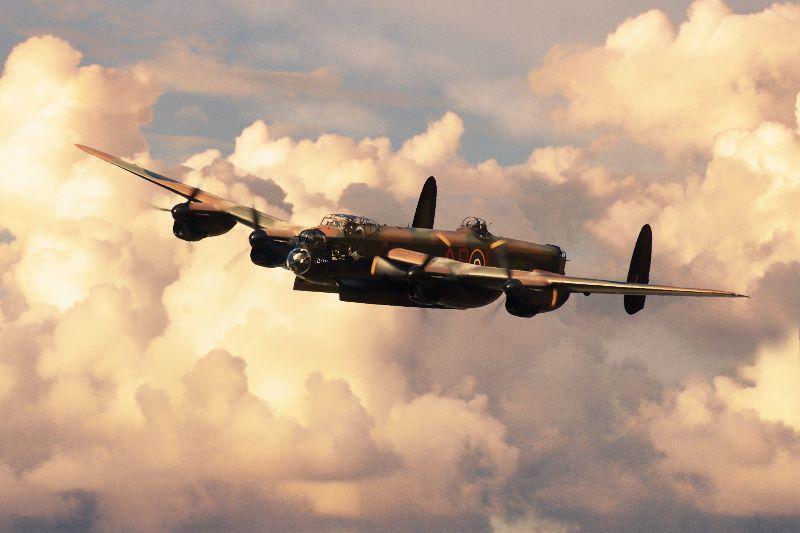 Lancaster Bomber L Leader