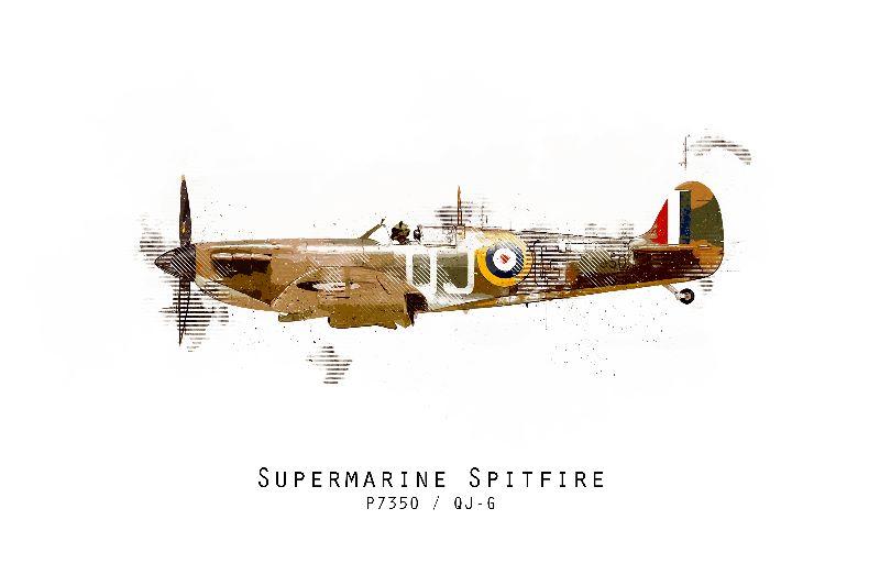 Spitfire P7350