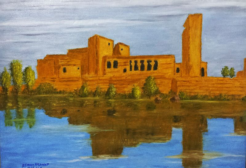 Temple of Philae the anc