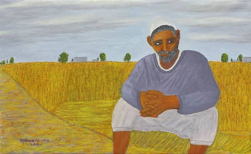 The wheat farmer