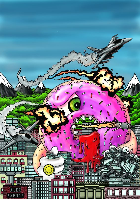 Doughnut Attacks City