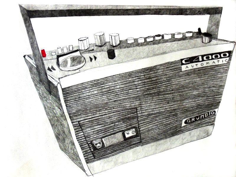 Grundig Radio cassette