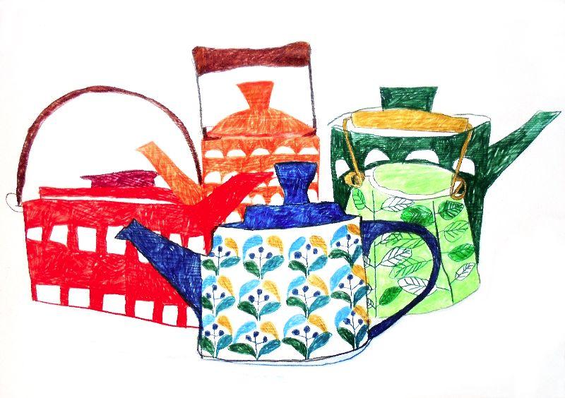 Scandinavian Teapots