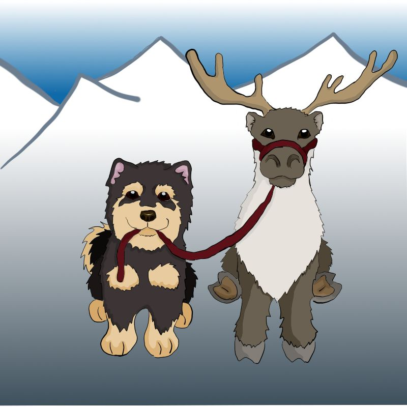 Lappy and Reindeer