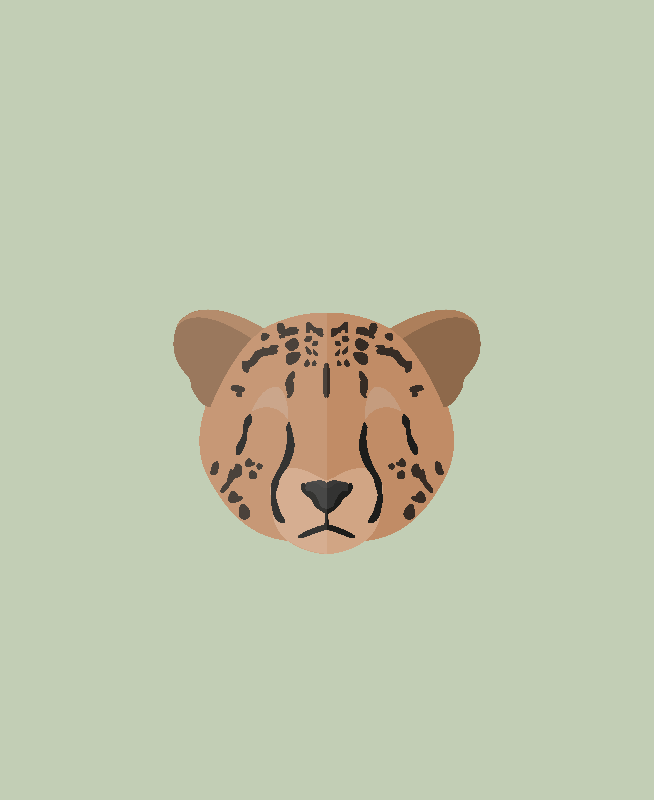 Cheetah Illustration