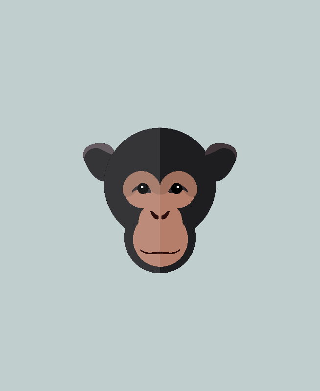 Chimp illustration