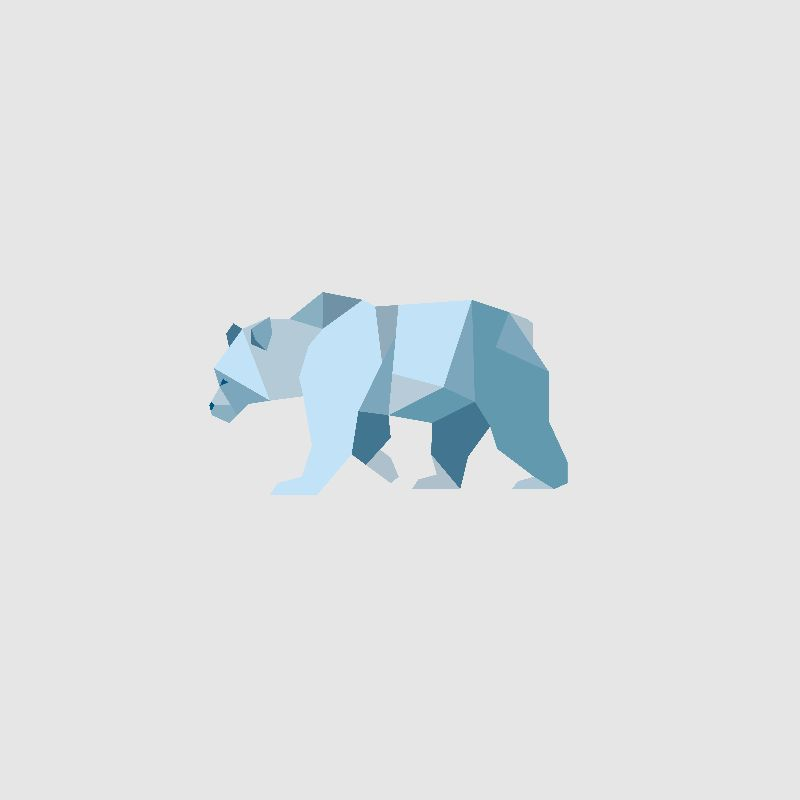 Geometric Polar Bear