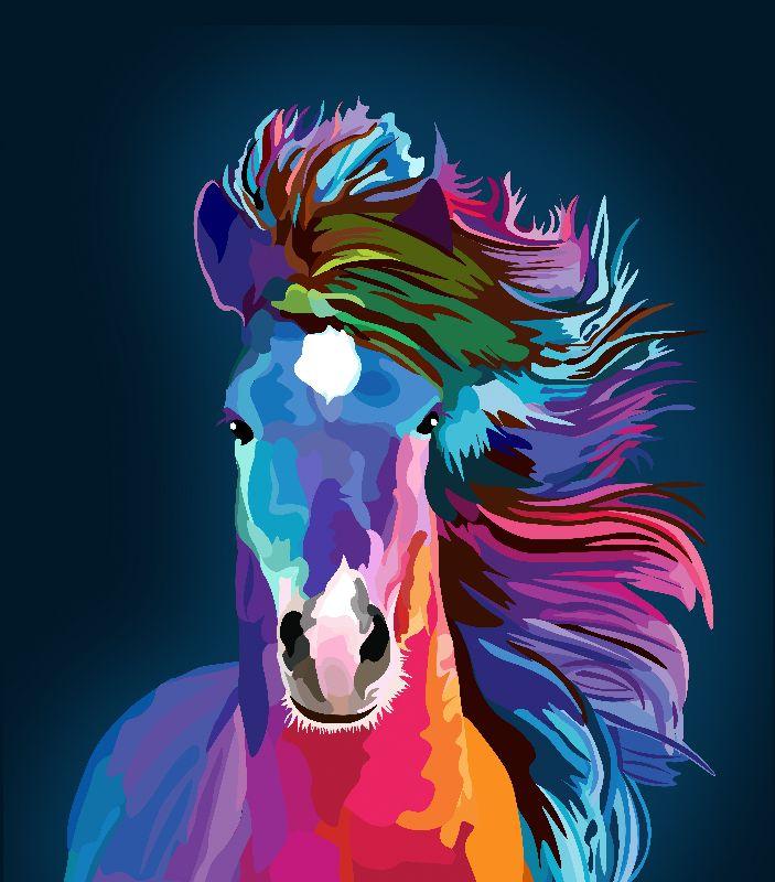 pop art horse