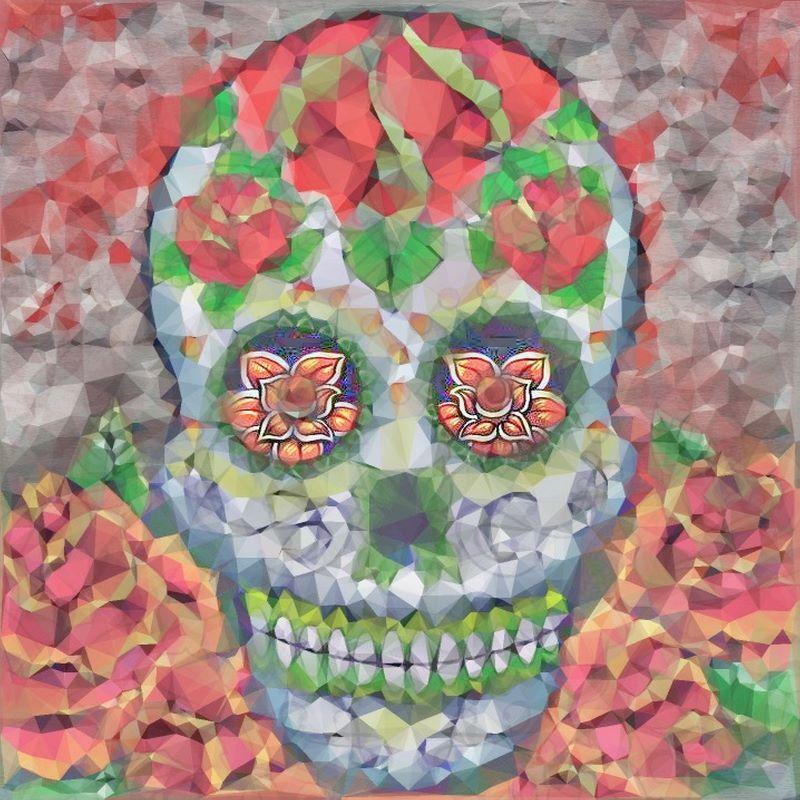 Polygon Skull