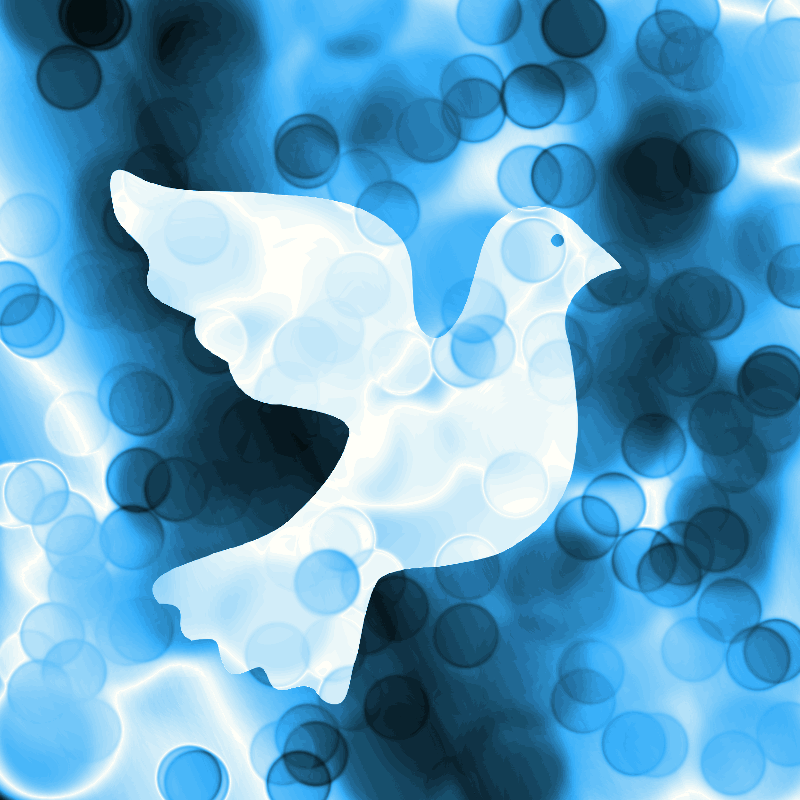 Blue Peace Dove