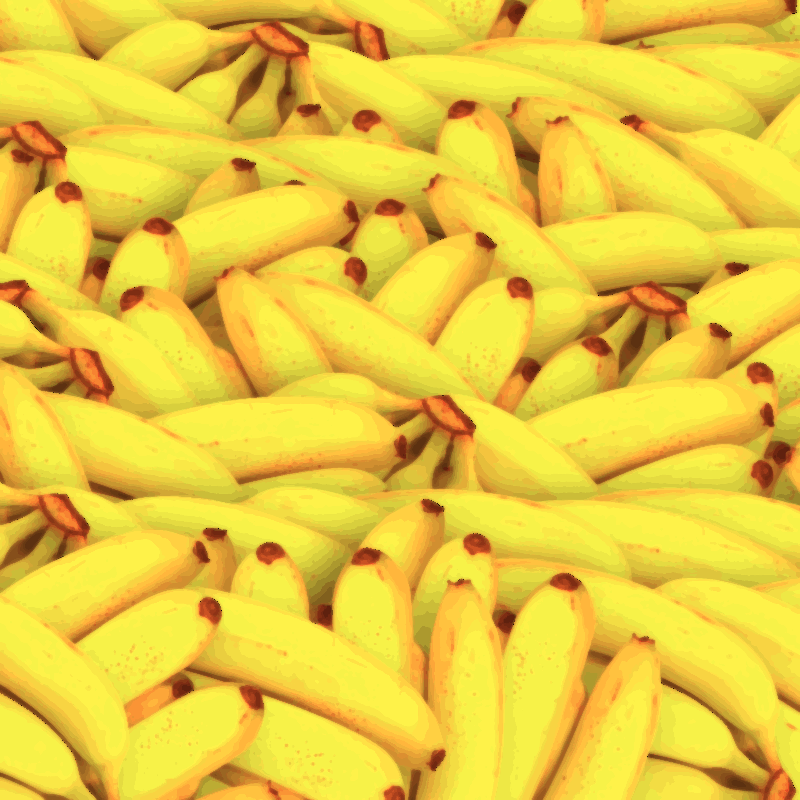 Happy Yellow Bananas