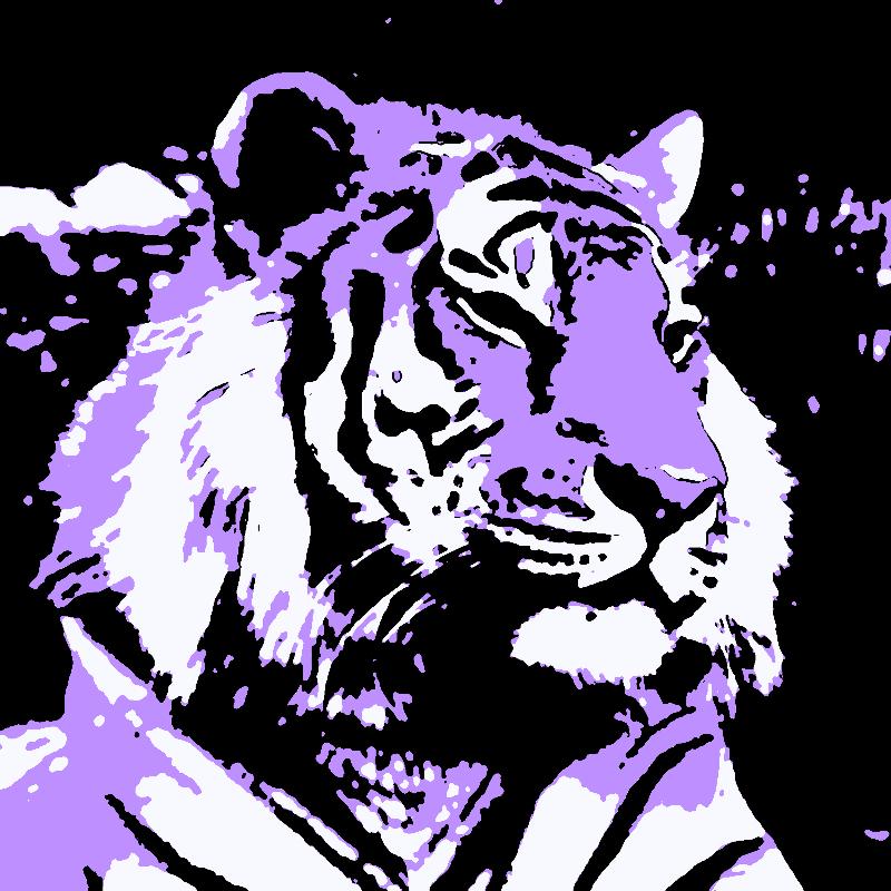 Oh That Violet Tiger