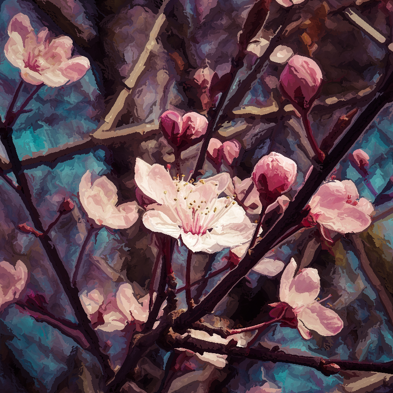 Sweet Almond Blossoms