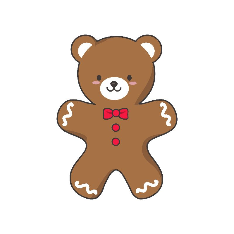 GingerBEAR Cookie