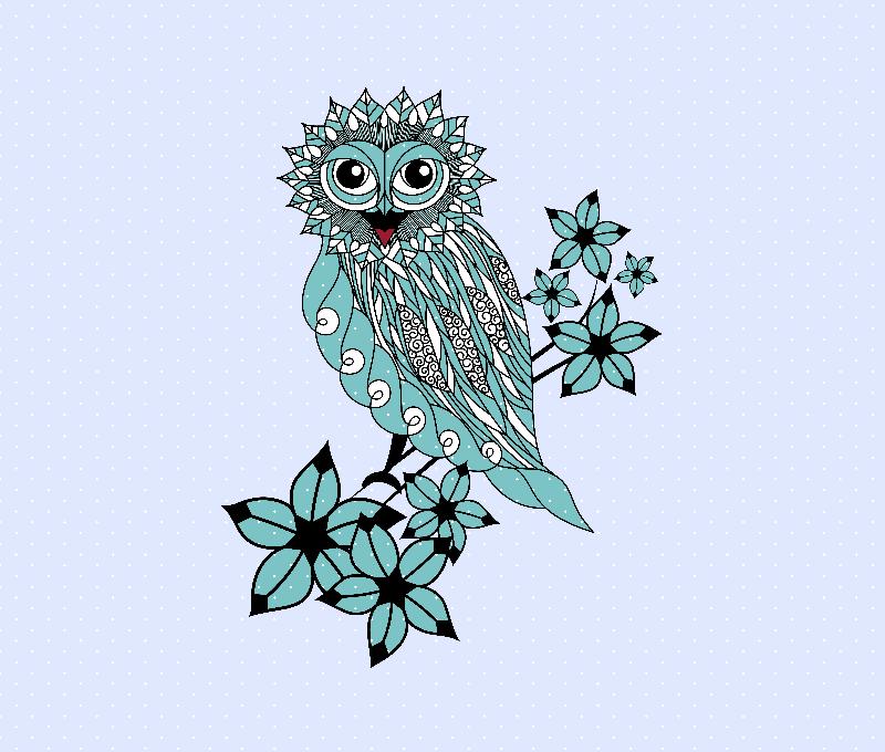 Happy Winter Owl