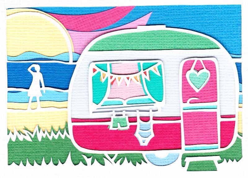 Caravan lady