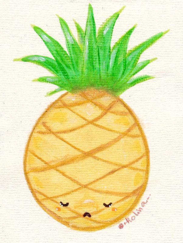 Sad Little Pineapple