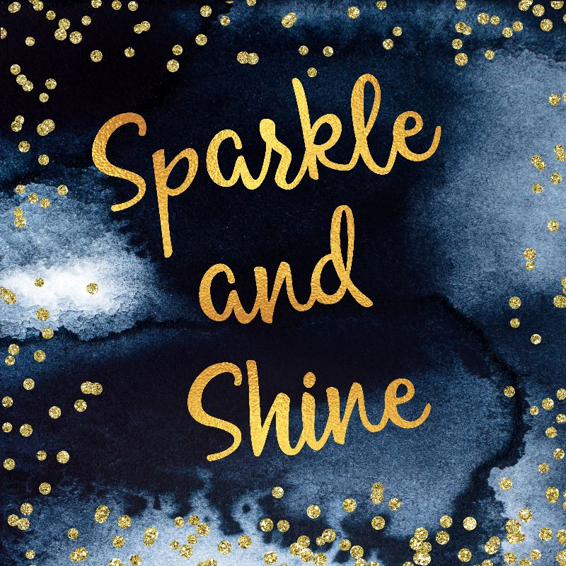 Sparkle And Shine Gold