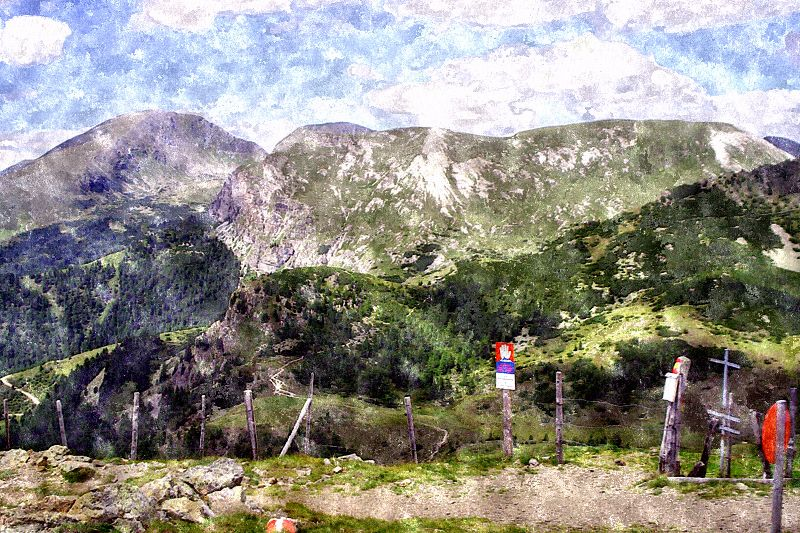 Carinthia in Watercolor