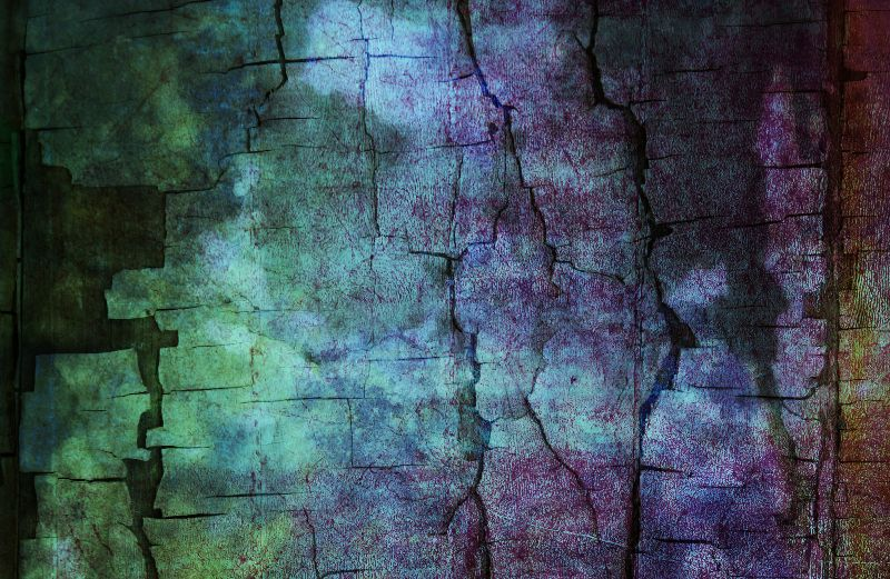 Color Cracked Earth