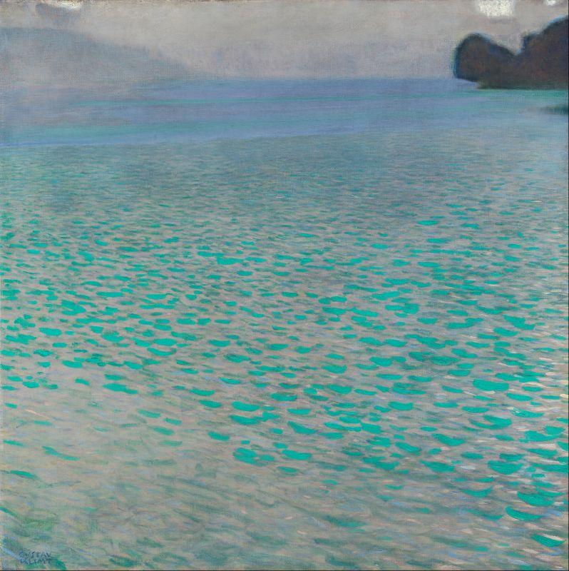 Gustav Klimt  Attersee