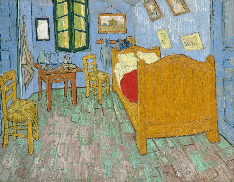 The Bedroom by Van Gogh