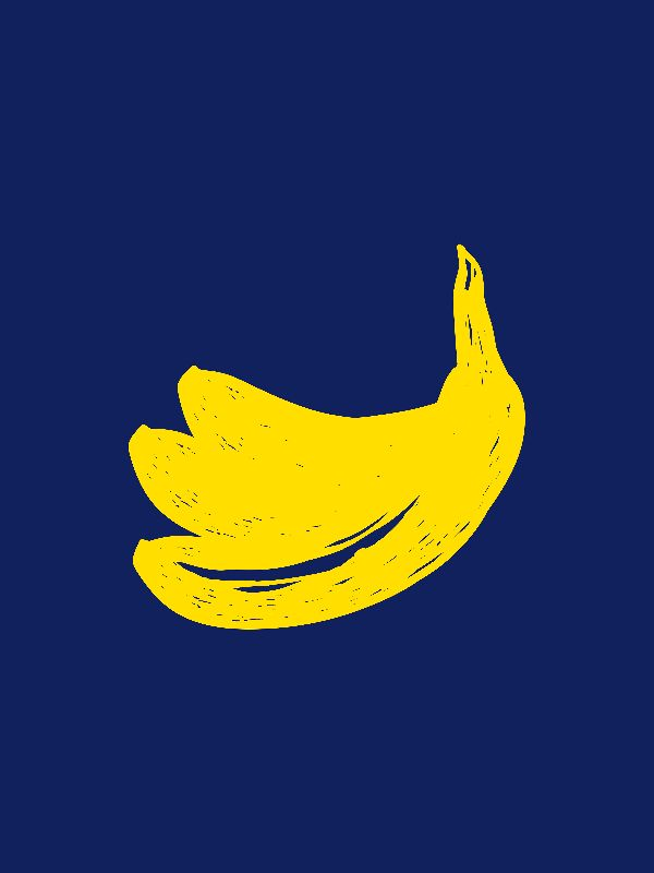 Banana Pop art