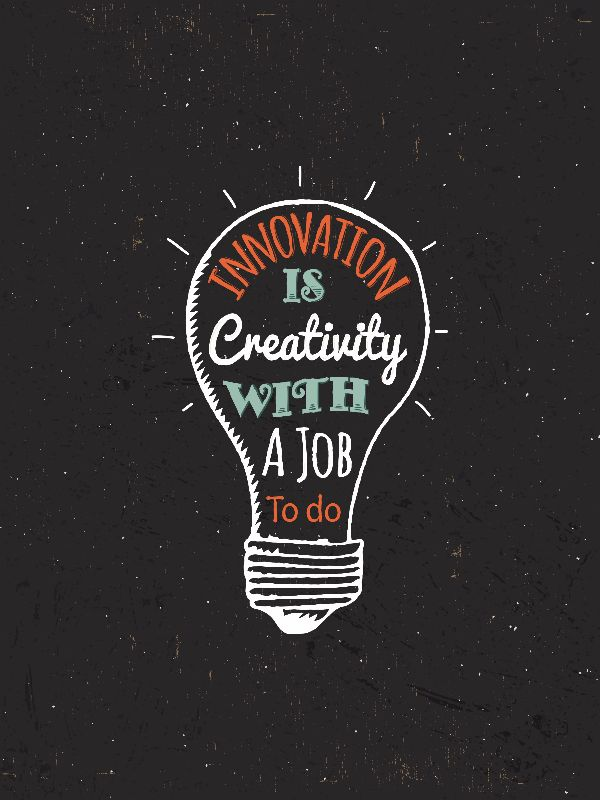 Innovation is Creativity