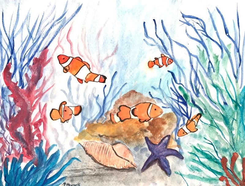 Fish underwa