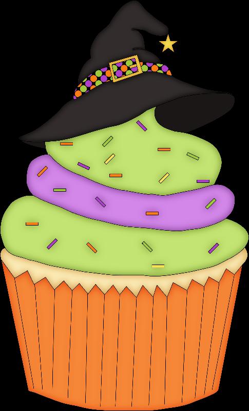 Halloween Cupcake Design