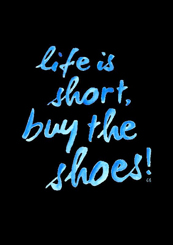 Life Is Short Print