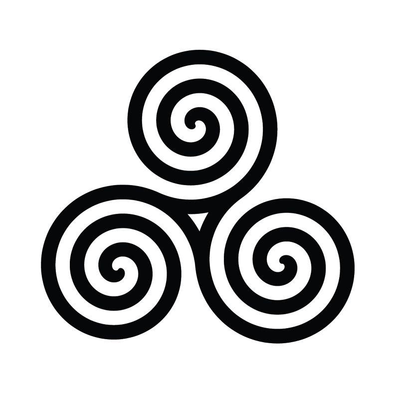 Celtic Spirals Number One