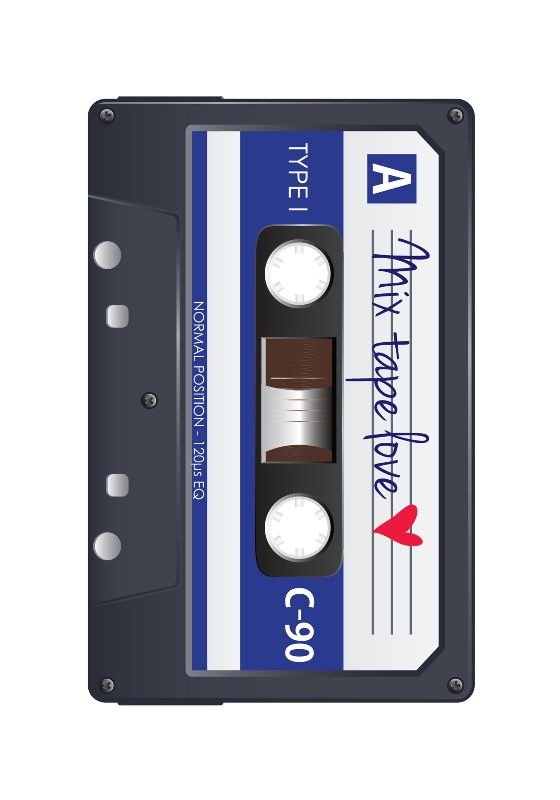 Mix Tape Love Bluejpg