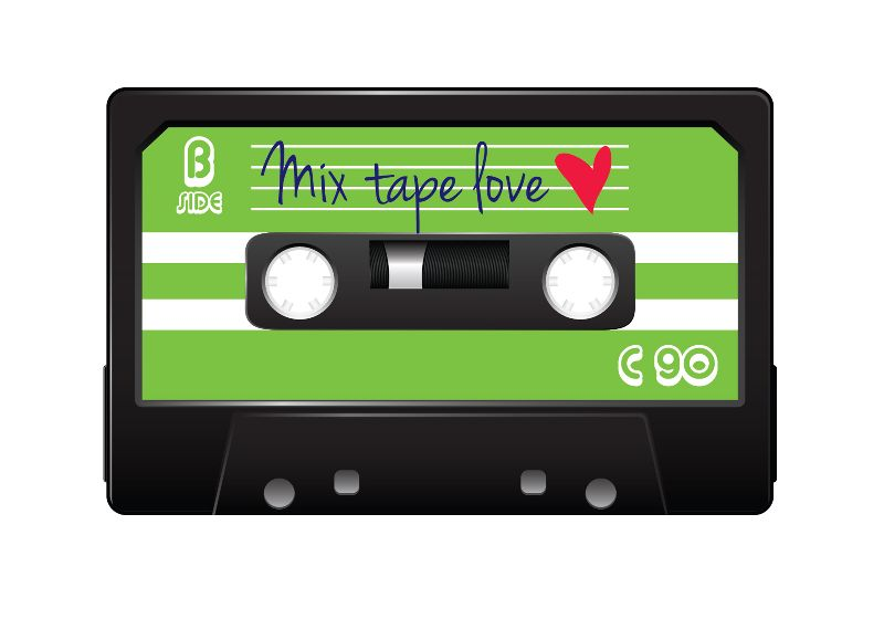 Mix Tape Love Greenjpg