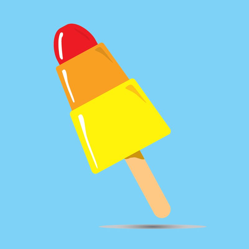 Rocket Ice Lolly