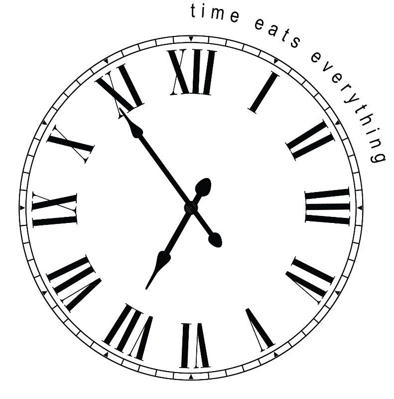 Time Eats Everything Clok