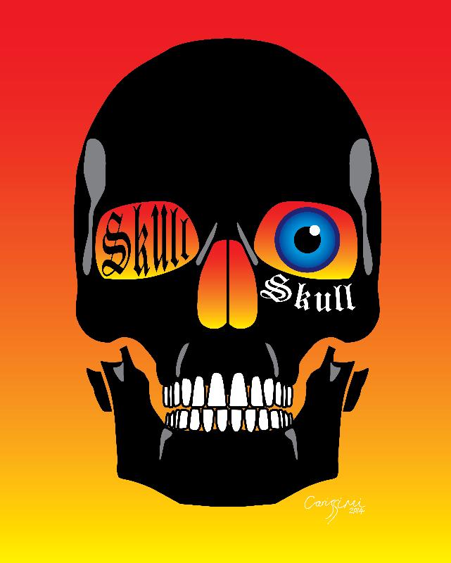 Eyeball Skull